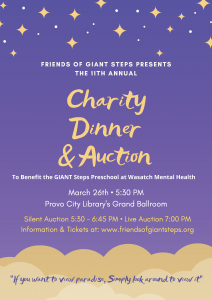 Giant Steps Auction Poster 2020